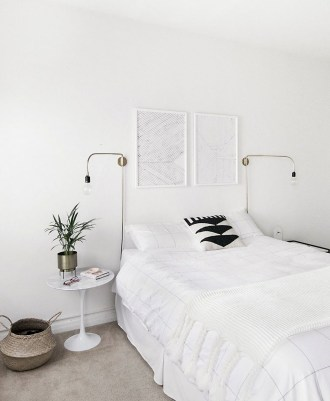 Modern And Stylish Scandinavian Bedroom Decoration Ideas 36
