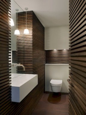 Simple And Cozy Wooden Bathroom Remodel Ideas 08