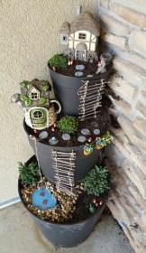 Totally Cool Magical Diy Fairy Garden Ideas 22