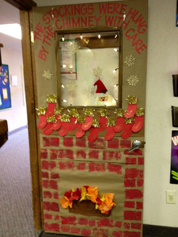 Adorable Winter Classroom Door Decoration Ideas 06