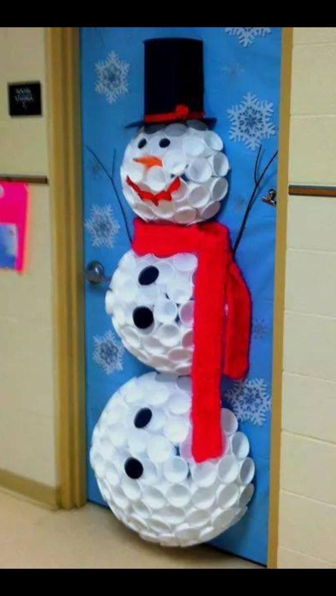 Adorable Winter Classroom Door Decoration Ideas 31