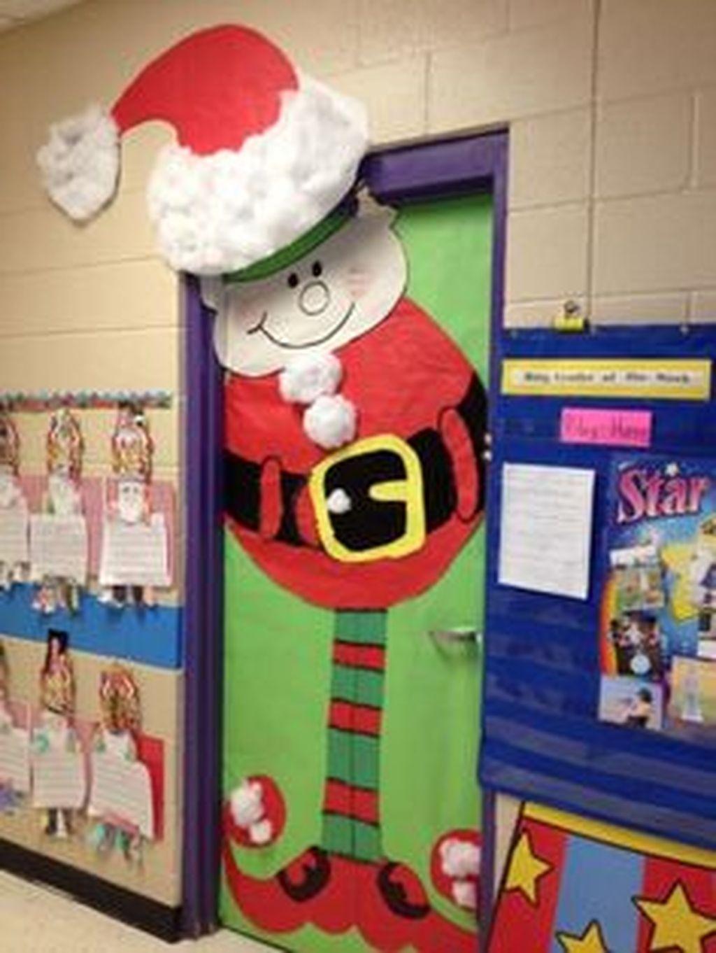 Adorable Winter Classroom Door Decoration Ideas 35
