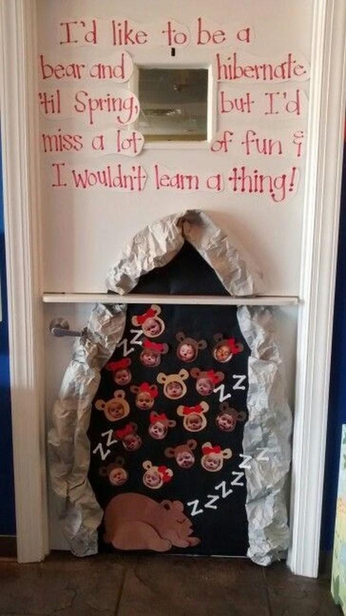 Adorable Winter Classroom Door Decoration Ideas 40