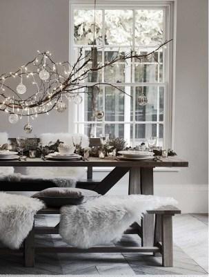 Amazing Winter Table Decoration Ideas 25