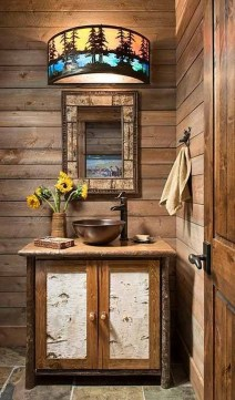 Awesome Winter Themed Bathroom Decoration Ideas 07