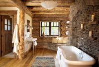 Awesome Winter Themed Bathroom Decoration Ideas 47