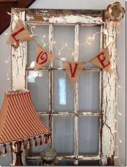 Cute Shabby Chic Valentines Decoration Ideas For Your Home 08