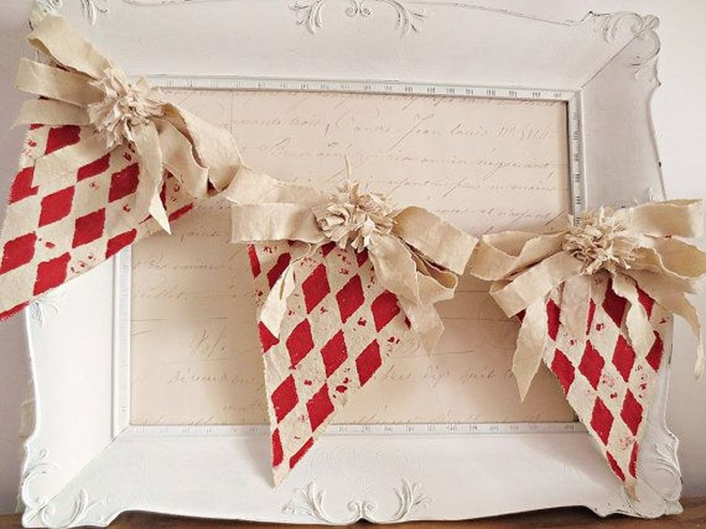 Cute Shabby Chic Valentines Decoration Ideas For Your Home 40