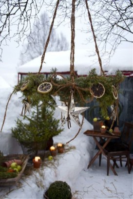 Fabulous Outdoor Winter Decoration Ideas 23