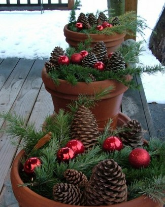 Fabulous Outdoor Winter Decoration Ideas 24