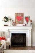 Inspiring Valentines Day Fireplace Decoration Ideas 02