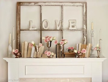 Inspiring Valentines Day Fireplace Decoration Ideas 27