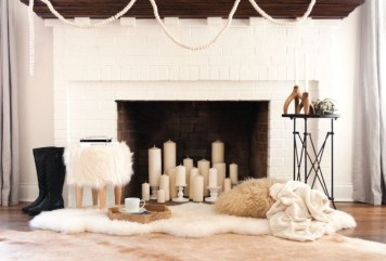 Inspiring Valentines Day Fireplace Decoration Ideas 37