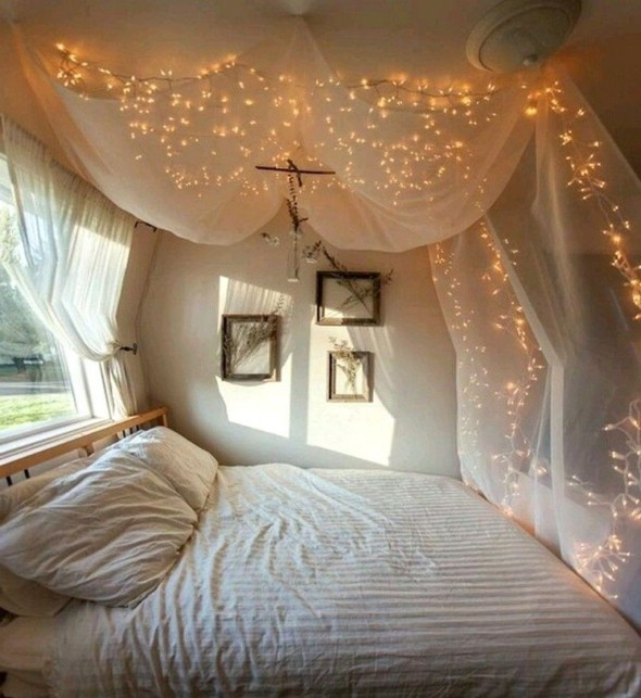 Romantic Valentines Bedroom Decoration Ideas 09