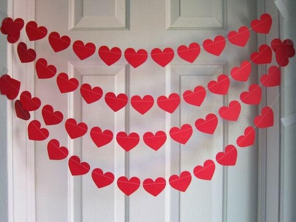 Romantic Valentines Bedroom Decoration Ideas 20