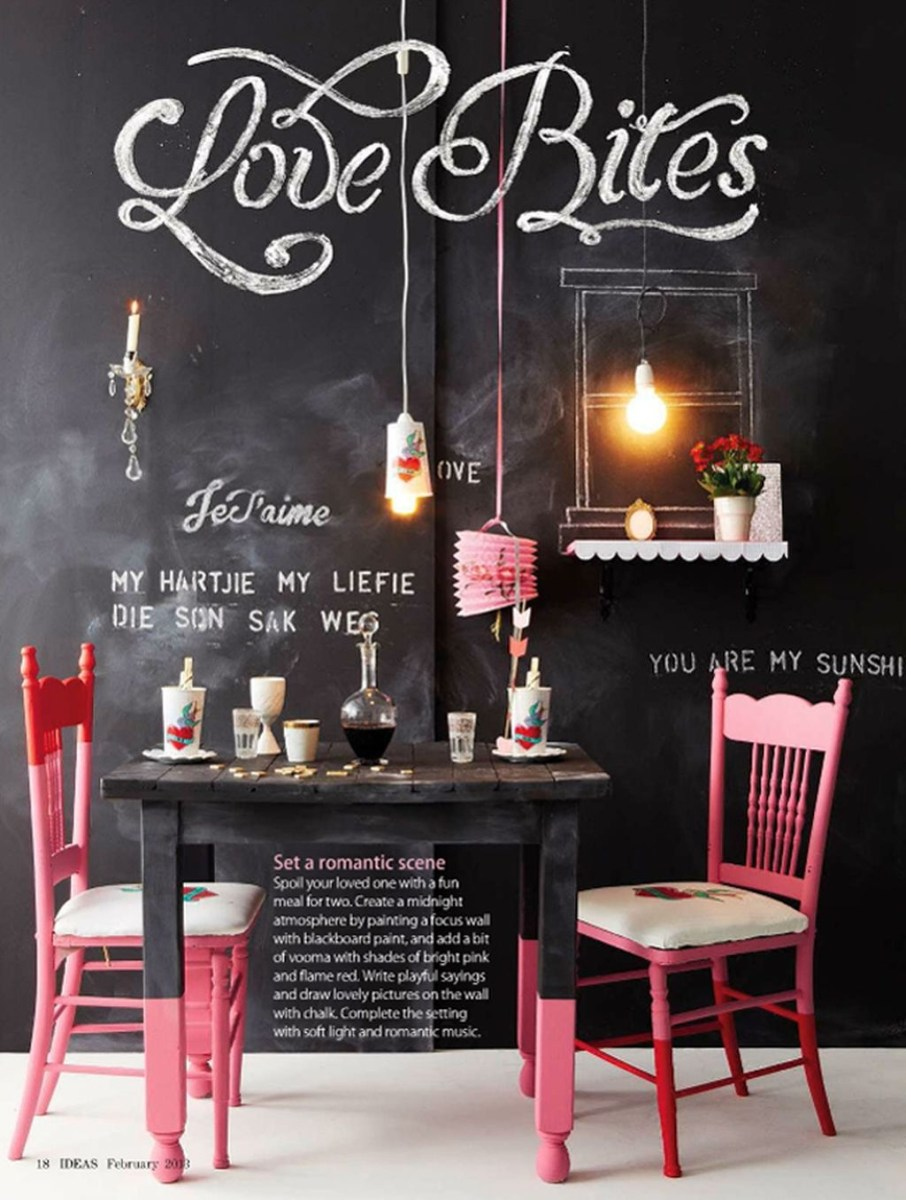 Romantic Valentines Day Dining Room Decoration Ideas 17
