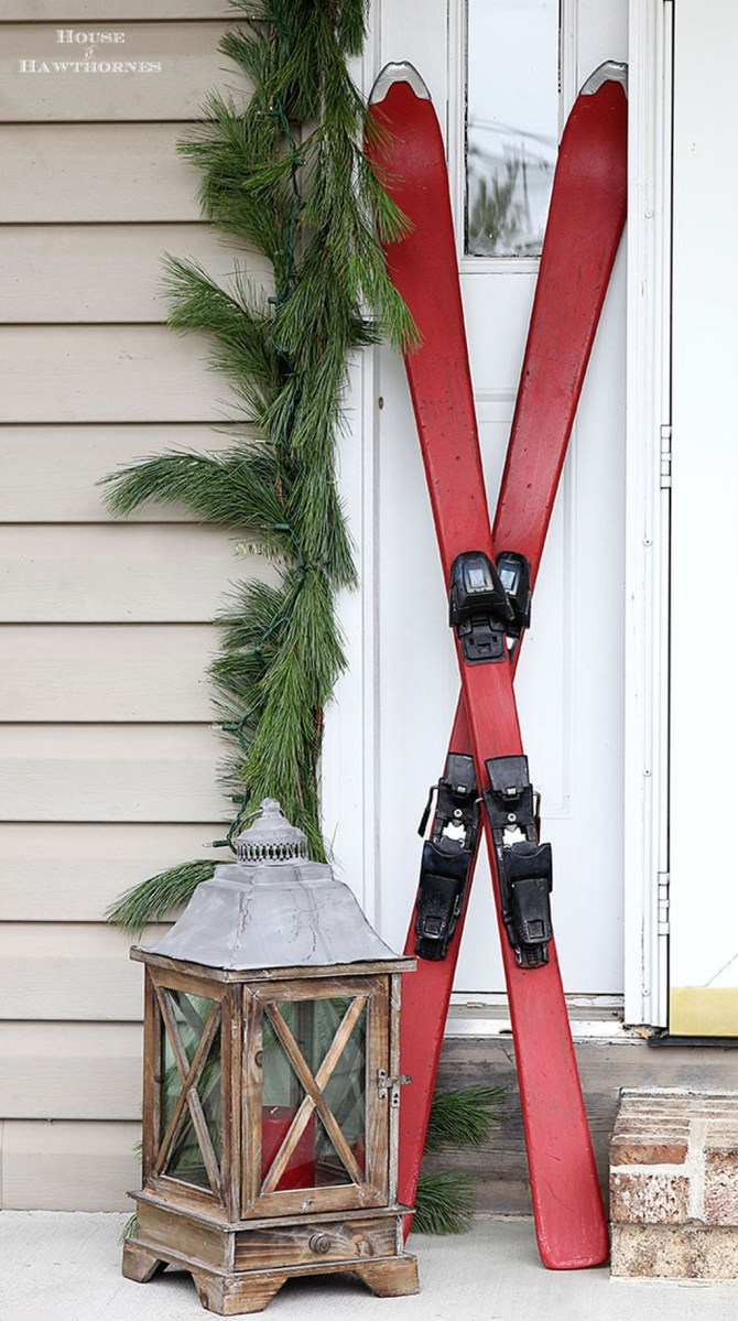 Totally Adorable Winter Porch Decoration Ideas 17