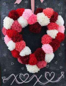Totally Adorable Wreath Ideas For Valentines Day 09
