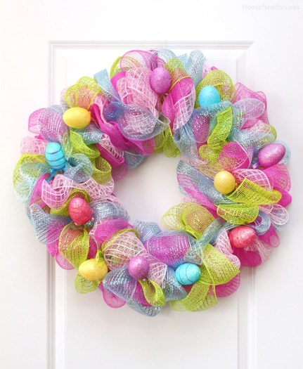 Totally Adorable Wreath Ideas For Valentines Day 46