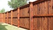Adorable Wooden Privacy Fence Patio Backyard Landscaping Ideas 12