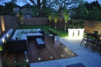 Adorable Wooden Privacy Fence Patio Backyard Landscaping Ideas 24