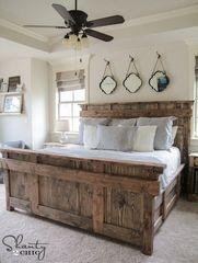 Amazing Farmhouse Style Master Bedroom Ideas 31