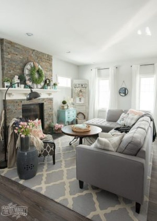 Awesome Modern Spring Decorating Ideas 48