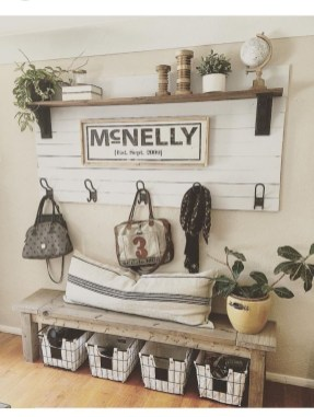 Beautiful Rustic Entryway Decoration Ideas 08
