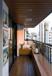 Cozy Apartment Balcony Decoration Ideas 13