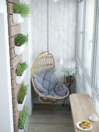 Cozy Apartment Balcony Decoration Ideas 20