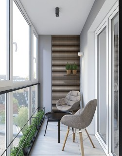Cozy Apartment Balcony Decoration Ideas 30