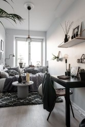 Cozy Apartment Studio Decoration Ideas 25