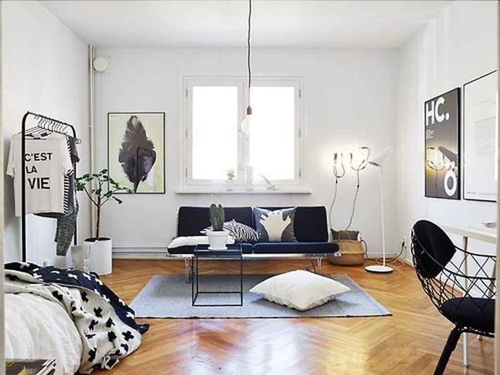 Cozy Apartment Studio Decoration Ideas 42