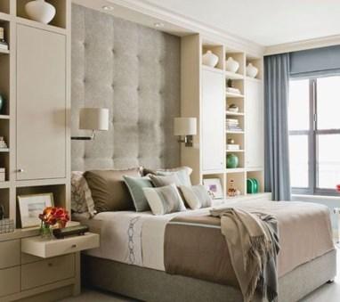 Elegant Small Master Bedroom Decoration Ideas 34