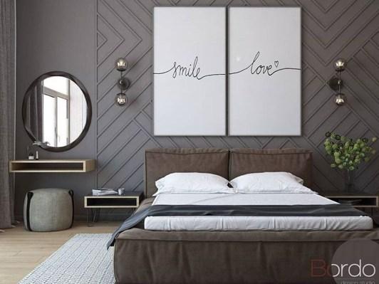 Elegant Small Master Bedroom Decoration Ideas 42