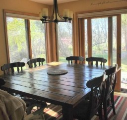 Inspiring Rustic Farmhouse Dining Room Design Ideas 02