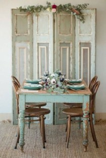 Inspiring Rustic Farmhouse Dining Room Design Ideas 09