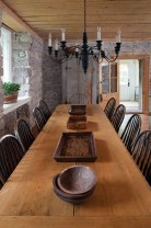 Inspiring Rustic Farmhouse Dining Room Design Ideas 20