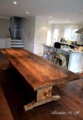 Inspiring Rustic Farmhouse Dining Room Design Ideas 26