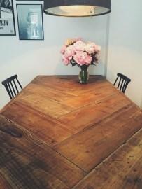 Inspiring Rustic Farmhouse Dining Room Design Ideas 45