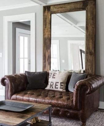 Amazing Rustic Farmhouse Living Room Decoration Ideas 08