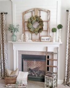 Amazing Rustic Farmhouse Living Room Decoration Ideas 20