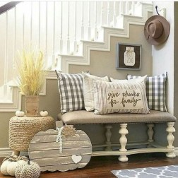 Amazing Rustic Farmhouse Living Room Decoration Ideas 40