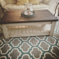 Amazing Rustic Farmhouse Living Room Decoration Ideas 42