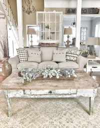 47 Amazing Rustic Farmhouse Living Room Decoration Ideas ...