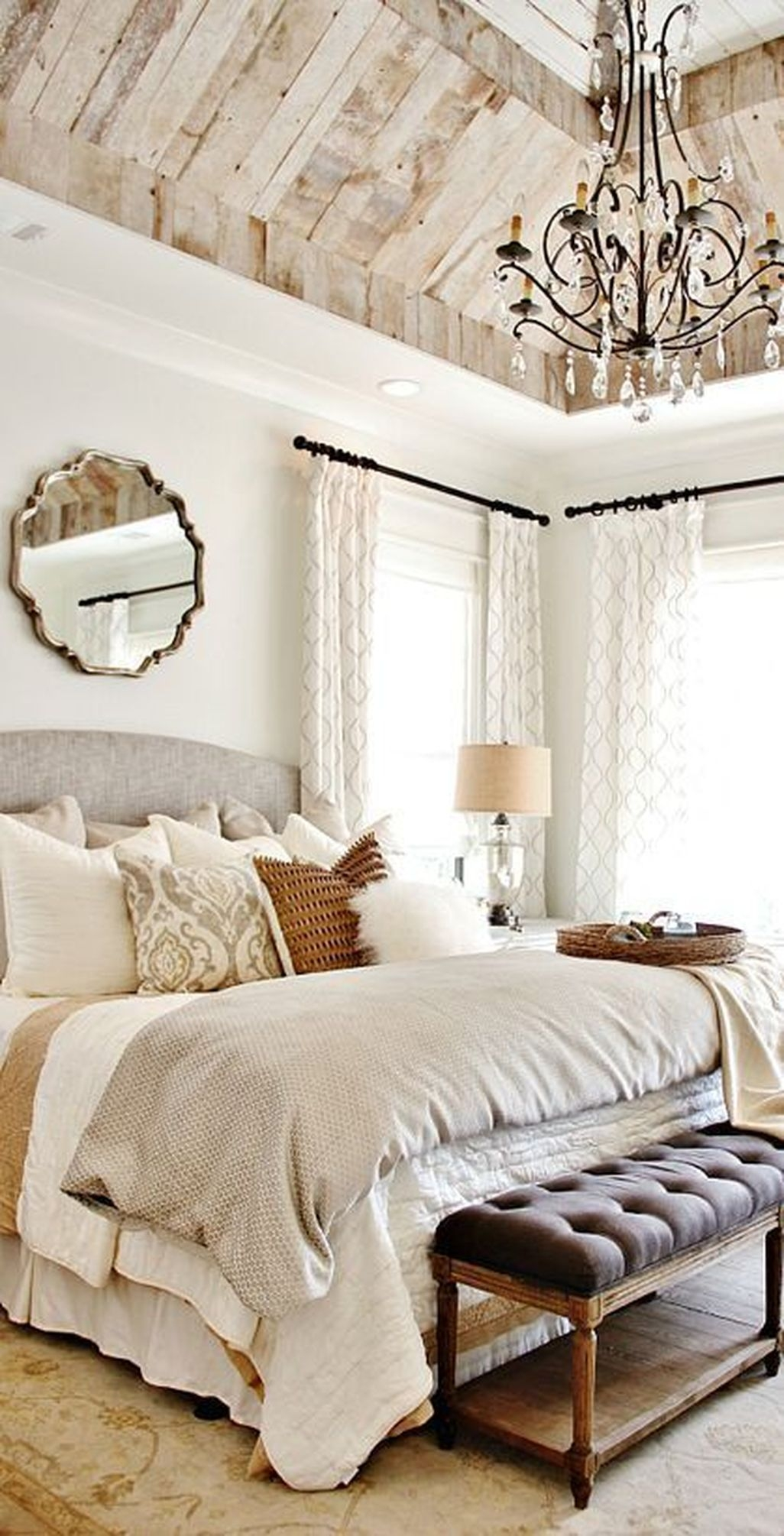 Awesome Rustic Farmhouse Bedroom Decoration Ideas 07