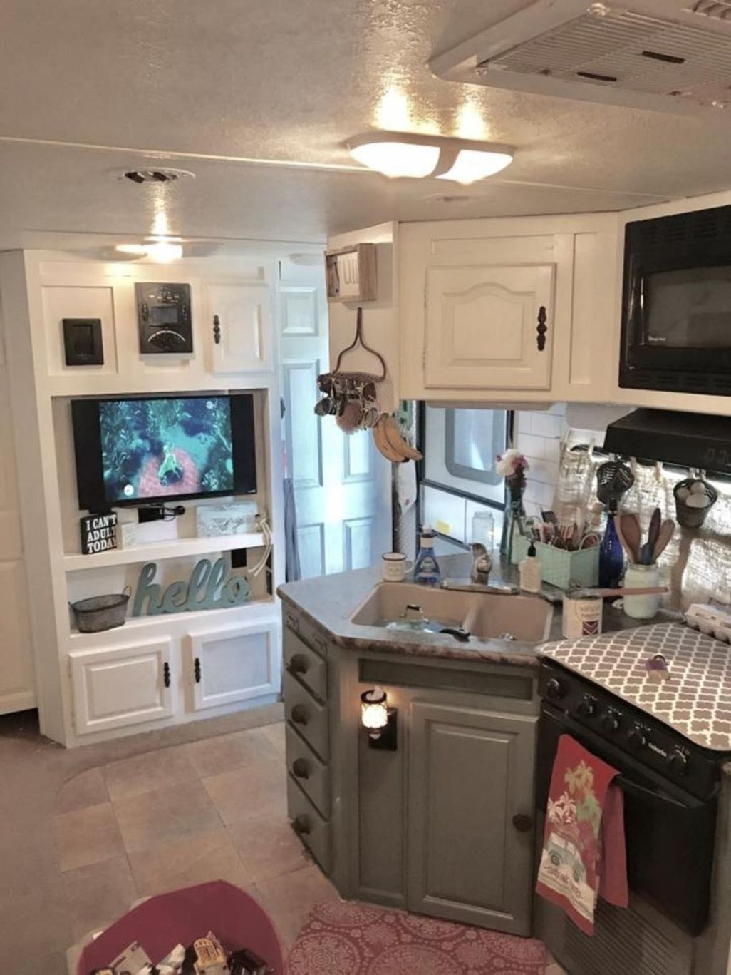 Awesome Rv Living Remodel Design Ideas 10