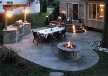 Awesome Small Backyard Patio Design Ideas 31