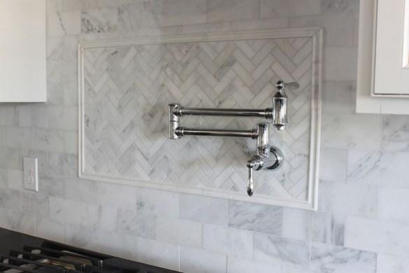 Awesome White Kitchen Backsplash Design Ideas 42
