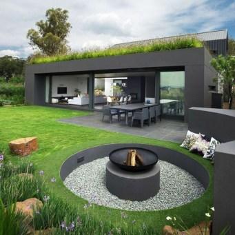 Beautiful Front Yard Rock Garden Design Ideas 26